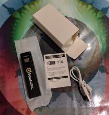 2200mAh UL Listed Symantec External Battery Portable Charger Power Bank Aluminum