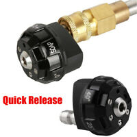 Car Pressure Washer 6-in-1 Spray Nozzle Tip Quick Change Over AND Easy 4000 PSI