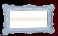 Specchio Da Parete Barocco OGGETTO D'ANTIQUARIATO BIANCO specchio Arredamento