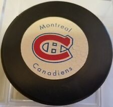 a4f25afd1 Vintage 1970 s MONTREAL HABS Hockey Puck Rawlings Canada RUBBER BILTRITE NHL