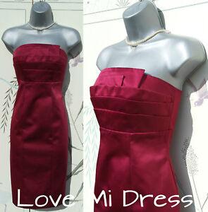 Principles - 50s Style Satin Corset Pencil Wiggle Dress Sz 16 EU44