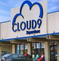 SUPERSTORE CLOUD9/ TV SHOW USED PROP WITH TAG WARDROBE