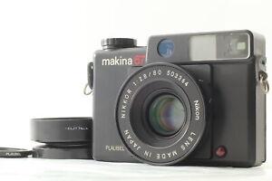 【 Almost MINT w/Hood 】 Plaubel Makina 67 + Nikkor 80mm F/2.8 Lens From Japan 667