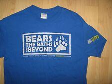 Steamworks Gay Baths Tee - USA Canada Bathhouse Bears Spa LGBT Blue T Shirt Meds