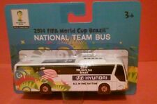 USA SOCCER NATIONAL TEAM BUS HYUNDAI UNIVERSE MAISTO FIFA WORLD CUP BRAZIL 2014