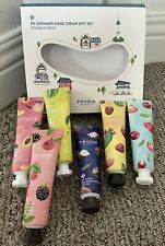 FRUDIA MY ORCHARD HAND CREAM GIFT SET 6 NEW DERIVED FROM FRUIT EACH 1.05 OZ.
