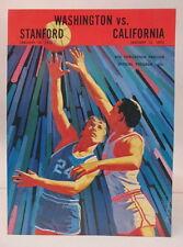1/70 STANFORD and CALIFORNIA at WASHINGTON HUSKIES basketball program