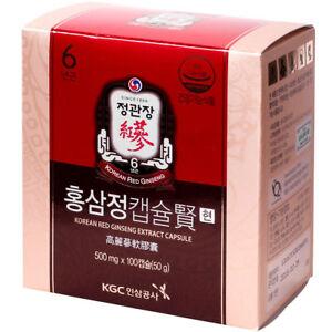 [Cheong Kwan Jang]KGC Korean Red Ginseng Extract capsule(500mgX100EA)