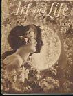 ART and LIFE June 1925 Magazine of Art and Inspiration ART NOUVEAU Art Deco