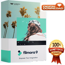 Wondershare Filmora 9.6 + Effect Pack ✔️Full Version Portable✔Activated Lifetime