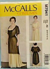 McCalls Outlander period dress pattern size 6-22 MP708 Uncut