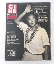 CINE-REVUE 20 février 1953 GARY COOPER RENEE SAINT-CYR JACQUELINE PAGNOL