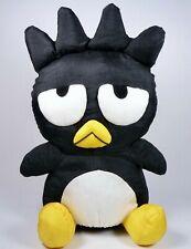 """Vintage 1997 Sanrio Badtz Maru 10"""" Nylon Plush Doll Hello Kitty Penguin Toy"""