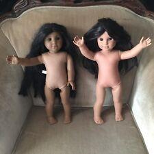 American Girl Dolls Lot Josephina and Kaya With Earrings