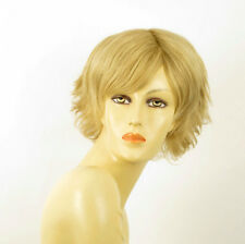perruque femme 100% cheveux naturel courte blonde ref HELENE 22