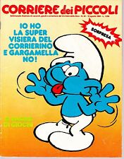 CORRIERE DEI PICCOLI 1984 NR.33 POSTER - BIG JIM - HELLO! SPANK - TULIPANO NERO