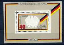 ALLEMAGNE Fédérale, RFA, 1974, BLOC timbre 9, 25° ANNIVERSAIRE, OISEAU, neuf**