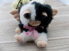 """New NECA GREMLINS The Movie Gizmo Mogwai Smiling Plush Toy Doll 4"""" Black"""