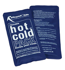 3 x Reusable Hot and Cold Pack Ice Heat Pad Gel Packs For Sports And Pain Relief