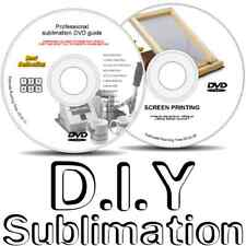 Heat press sublimation & sérigraphie diy dvd guides