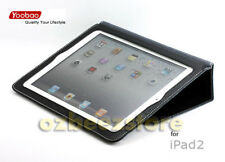 YOOBAO EXECUTIVE LEATHER SMART CASE COVER 4 IPAD 2 blk