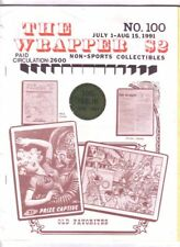 THE WRAPPER #100 - 1991 Non-sports card fanzine 100 issue history of THE WRAPPER