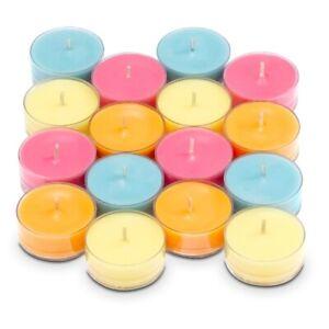 Bougies Partylite réchaud boites de 12 + porte réchaud - nombreuses fragrances