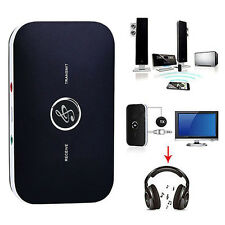 2 In 1 Wireless Bluetooth Transmitter Receiver A2DP Stereo Audio Music Adapter