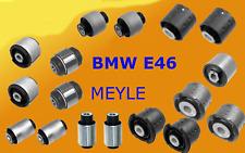 MEYLE BMW 3 E46 REAR AXLE TRAILING SUBFRAME ARM BUSHES BUSHING KIT COMPLETE SET