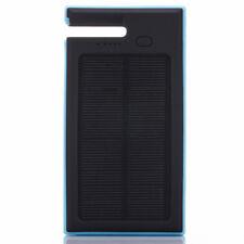 Batterie Solaire Étanche Banque Alimentation Urgence 12000mAh Chargeur 2 USB /BU