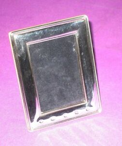 YEAR 2000 CLASSIC STYLE STERLING SILVER FULLY HALLMARKED PHOTO PICTURE FRAME