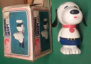 Swimming Snoopy Giocattolo Vintage Determined Productions - VINTAGE TOY