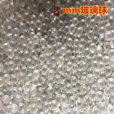 200pcs Glass Balls 8 mm Marbles Extra Hyaline Glass BB Slingshot Balls Pellets