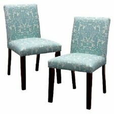 Seedling By Thomas Paul Uptown Dining Chair - Briar Aqua (Set of 2) …