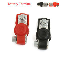 2pcs (- and +)Car Adjustable Battery Terminal Clamp Clips Plastic Protect Cover