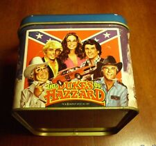 1981 WARNER BROTHERS Dukes of hazzard lunch BOX IN AS FOUND CONDITION.