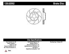 Disc Brake Rotor-OE Type Drilled Disc-Preferred Rear fits 05-08 Grand Prix