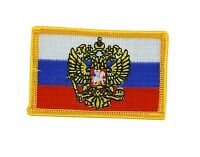 Bandiera patch toppe toppa ricamata russia russo imperial backpack termoadesivo