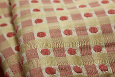 SET OF 2 JANE WILNER HAUTE COUTURE PILLOW SHAMS LINENS, YELLOW ORANGE WOVEN