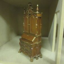 Dolls House Quality Furniture  Chippendale Sectretary cabinet  8106-01