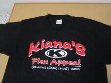 1995 Kiana Tom Flex Appeal shirt vtg deadstock nos tv show espn fitness muscle