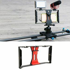 Video Camera Cage Stabilizer Film Making Rig For Smart Phone Video Rig Bracket
