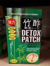 Foot Detox Patch (8 Patches) Made in Japan, Bamboo Vinegar , NEW