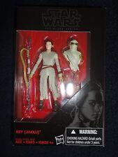 """STAR WARS The Black Series 3.75"""" Rey(Jakku) VHTF figure, NIB"""