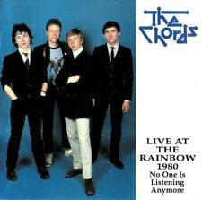 "THE CHORDS ""LIVE at the Rainbow 1980""  CD 1986 Unicorn Records/DOJO CD 178"