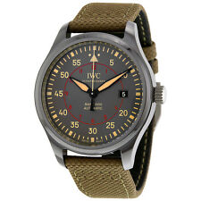 IWC Pilot Top Gun Automatic Anthracite Dial Mens Watch IW324702