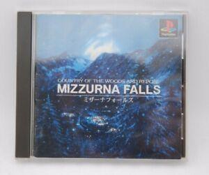 PlayStation1 Software MIZZURNA FALLS Japan import PS1 NTSC-J RARE SLPS01783