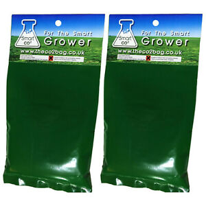 2x Smart CO2 Bags Generator Exhale Carbon Dioxide Grower Tents Rooms Patch C02