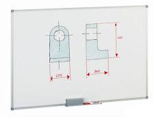 Pizarra Blanca Magnética Lacada Faibo 90x120cm