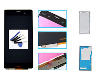 "5"" Black For Sony Xperia Z3 D6653 D6603 D6643 LCD Display Touch Screen Assembly"